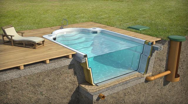Самый большой композитный бассейн