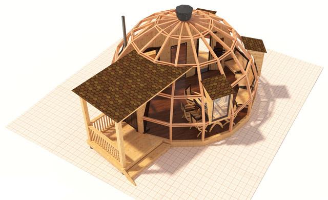 Баня купольная своими руками 154