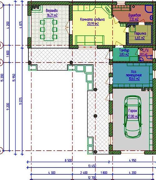 Проекты гаражей с хозблоком и баней куплю гараж в суоярви