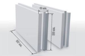Размеры пазогребневых панелей